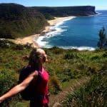 Views for miles and soul drenching fresh air... hiking bushwalking Sydney Australia RoyalNationalPark CoastalTrack walking beaches SydneyBushwalkersClub Microadventure