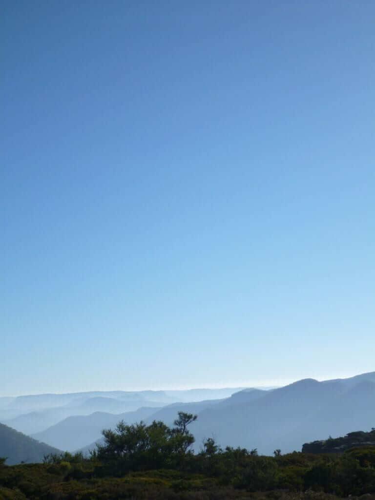 A Big Sky over Kanangra