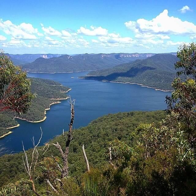 Sydney's main water supply, Lake Burragorang