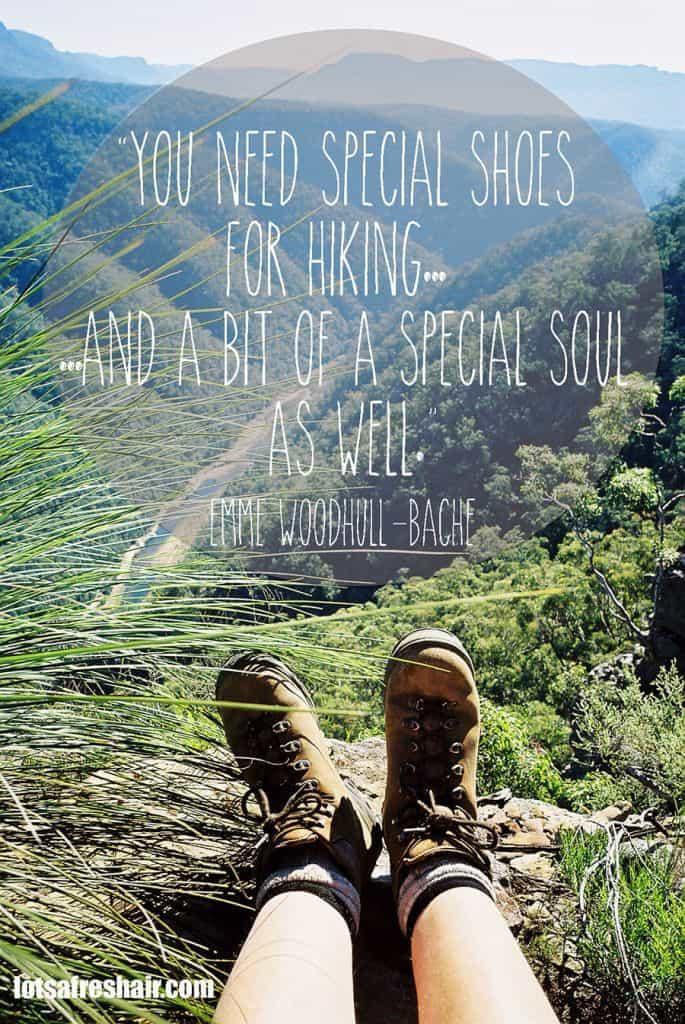 Hiking Quote of the Week - Lotsafreshair