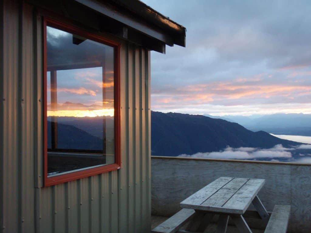 Luxmore Hut Kepler Track NZ