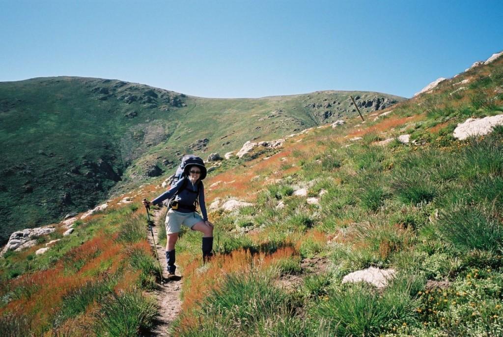 Ascending Mt Bogong, Victorian High Country.