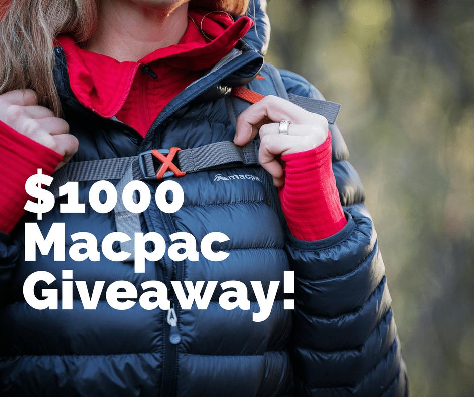 Macpac Giveaway
