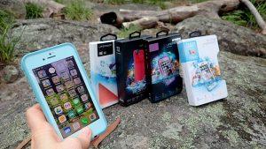 LifeProof waterproof smartphone case with iphone 8