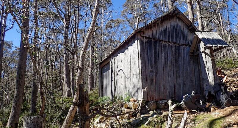 Trappers Hut cattleman hut