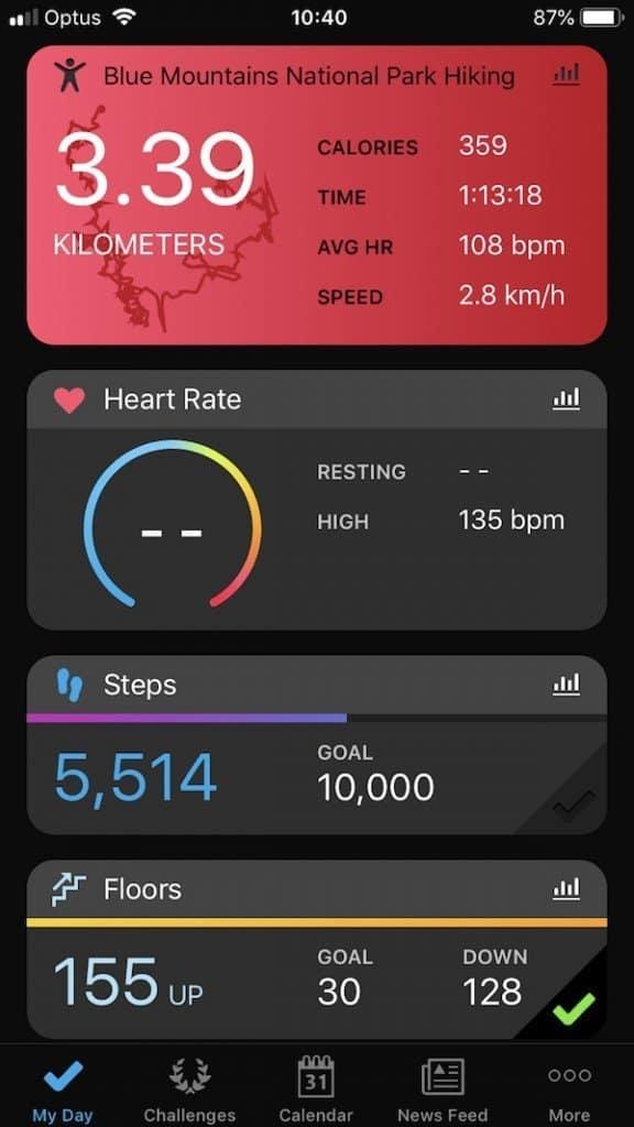 garmin fenix 5s app