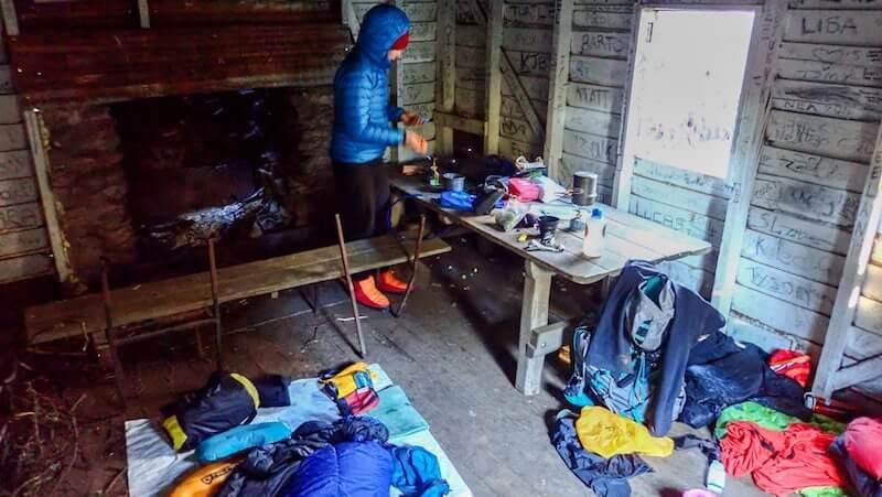 Inside Buddong Hut